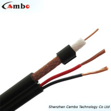 Cabo coaxial RG6 siamês BC 50 ohm