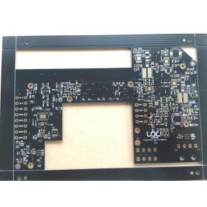 8-lager TG170 via in-pad-PCB