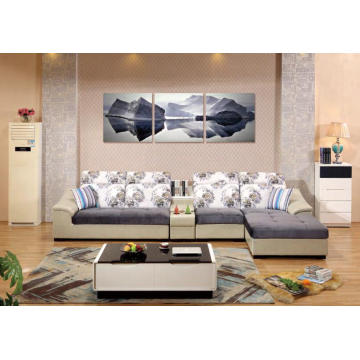 Modern Wholesale Market Furniture Low Price Sofa Set