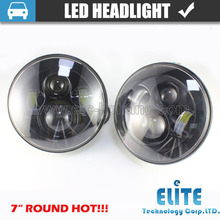 2015 high quality 4800LM 7 inch led headlight for jeep