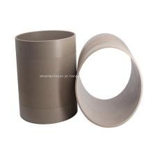 Tubo de resina de resistência ao calor PEEK marca HONYPLAS