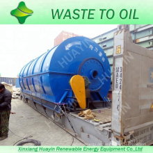 neue Technologie für das Recycling von Abfällen zur Pyrolyse von Heizölanlagen