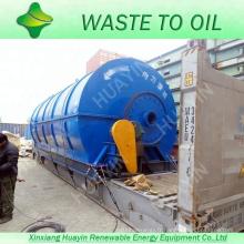 nouvelle technologie pour recycler les déchets en pyrolyse des installations de mazout