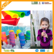 Eiscreme Jelly Lolly Pop Maker Popsicle Form Form / Baby Silikon Eis Creme Pop Form / kommerzielle Eis Popsicle Formen