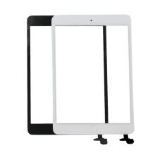 Digitalizador de la pantalla táctil para el iPad Mini / Mini 2 Digitizer Glass + Buttom con el conectador del IC