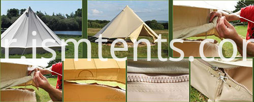 Glamping and Camping Marquees Bell Tents