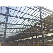 Estructura de acero industrial Almacén de talleres Edificio de cobertizo de metal