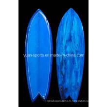 Planche de surf de poisson haute performance pour le surf