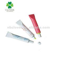 Zahnpasta geformt Textmarker Stift für die Förderung