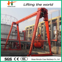 Hoist Crane with Grab Bucket Gantry Crane Price
