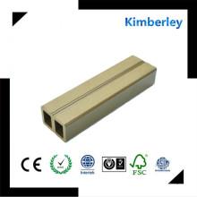 Suela de alta calidad china WPC con la textura de madera para el condado WPC Decking