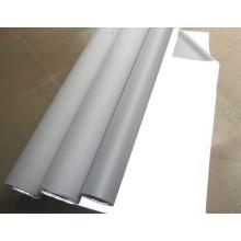 tela de nylon retrorreflectiva lavable blanca plateada para la ropa