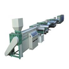 Filament en plastique de pp / PE d'extrudeuse de tréfilage faisant la machine
