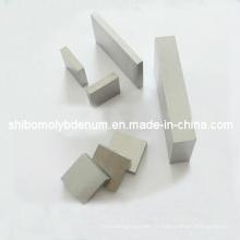 Plaques carrées de molybdène poli pur à 99,95%