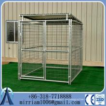 2015 Gran perrera de perro modular al aire libre para perros / perrera de perro de hierro / perrera de perro de metal grande