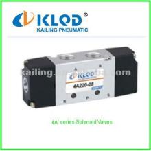 4V, 4A, 3V, 3A соленоидный клапан / Пневматическое управление / 3 или 5 ходов / Для управления воздухом