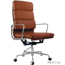 Hot Sale Office Furniture Thick Leather Padded Ergonomic Chair (FOH-F77-A)