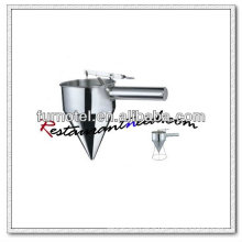U009 Stainless Steel Conical Oil Funnel