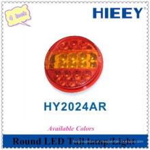 LED de alta qualidade luz redonda 4 polegadas cauda LED lâmpada traseira combinação cauda lâmpada para uso de caminhão