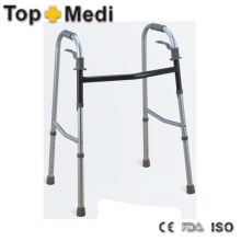 Reciprocating One Button Portable Walker Walking Aid