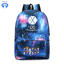 Candy color satchel school style computer backpack