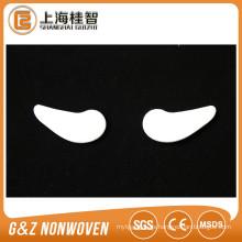 máscara de ojo cosmética no tejida pequeño par de máscara de ojo suministro