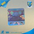 Etiqueta de segurança Hologram anti-roubo Etiqueta de logotipo customizada em holograma 3d para máquina de impressão