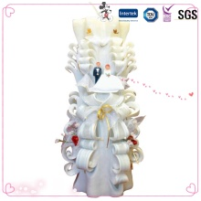China Wholesale Wax Carving Wedding Candle
