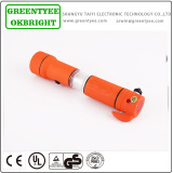 5 IN 1 high quality multi function emergency hammer with led torch flashlight