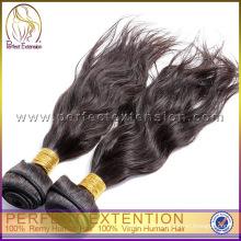 Regalo para Navidad Uzbekistán virginal del pelo extensiones de pelo humano 100% Natural