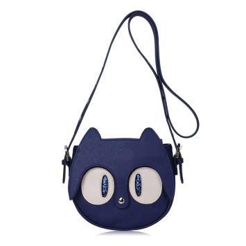 Cartoon cat decorative shoulder bag handbag