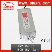 O motorista IP67 do diodo emissor de luz de 150W 15VDC 10A Waterproof a fonte de alimentação