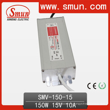 Драйвер LED 150Вт 15 В постоянного тока 10А IP67 Водонепроницаемый питания