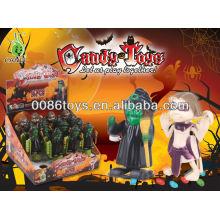 Enrollar juguetes caramelo personaje de halloween