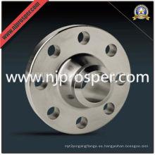 Reborde de acero inoxidable ASTM A182 ANSI B16.5 (YZF-F43)