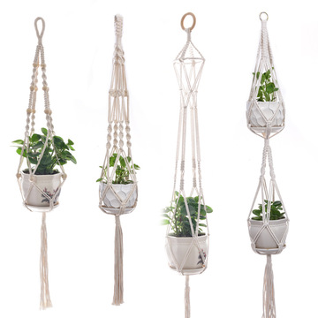 Hängender Blumentopf-Topfhalter für den Innen- und Außenbereich