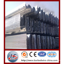 Hot Dipped Galvanized iron guardrail/used road barrier/road guard rails,Hot-dipp galvanized then PVC coating or painting highway