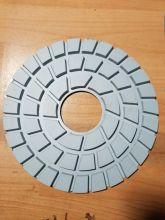 230mm 9 inch trắng bê tông kim cương đánh bóng Pad