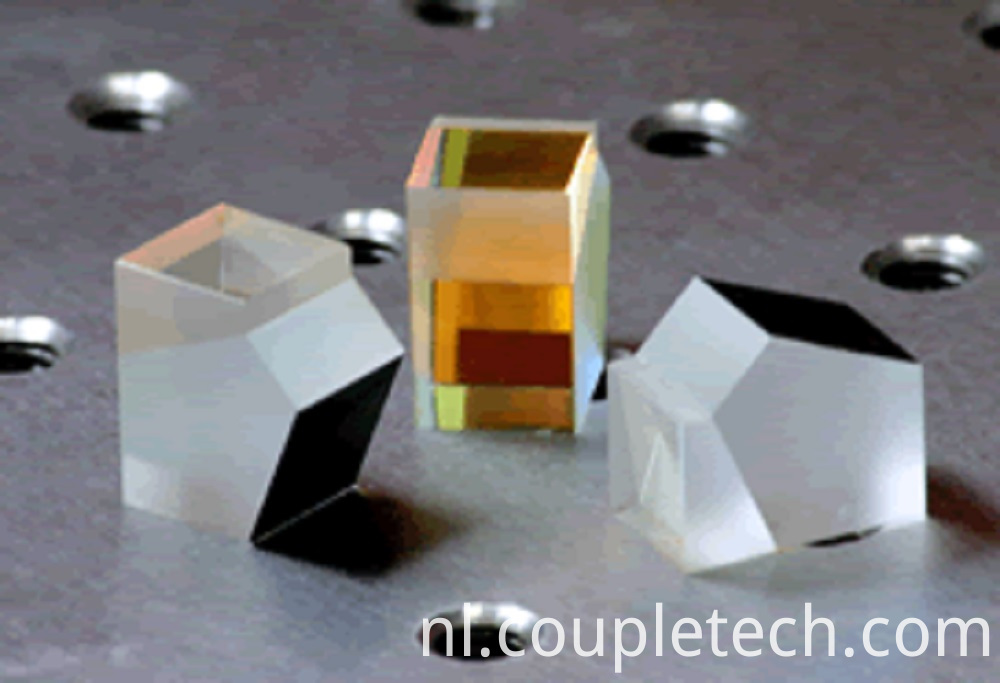 High precision beamsplitter penta prism