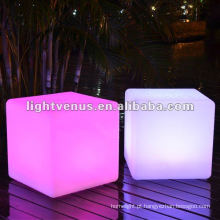 Novidade Color Changing LED Cube Chair