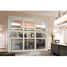 Residential or Commerical Marine Aluminum Sliding Door with Temple Glass