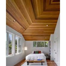 Bela ripa de teto de cedro