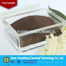 Ácido sulfónico de la lignina de sodio adhesiva de la materia prima refractaria