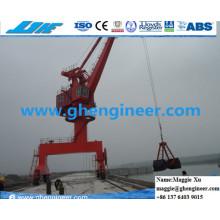 Hydraulische Marine Port Handling Ausrüstung Kran