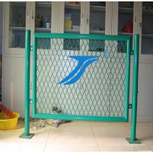 Fengcing d'isolement d'entrepôt / barrière soudée de treillis métallique d'atelier