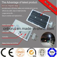 Wirtschaftliches unterschiedliches Watt der integrierten Solar-LED Straßenlaterne 90 Straßenlaterne Ce Cc Bescheinigung Watt-LED