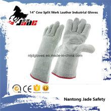 """Luvas de trabalho de segurança industrial de couro de couro de 13 """"Cowhide"""