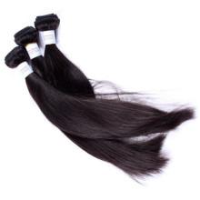 Без химических обрабатываются Камбоджи девственной дешевые дешевые 16-дюймовые человеческих волос ткать