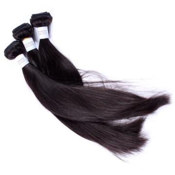 Aucun produit chimique ne traitées tissage cheveux humains cambodgien vierge pas cher pas cher 16 pouces