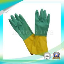 Gants de latex imperméables pour le lavage avec haute qualité